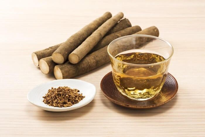 Burdock tea detox