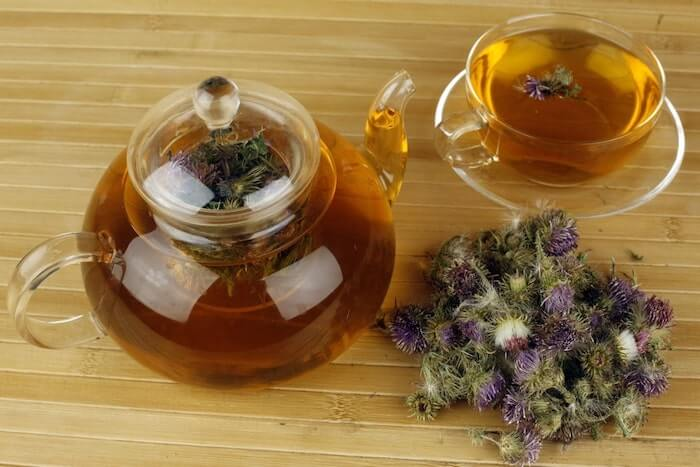 Milk Thistle tea detox