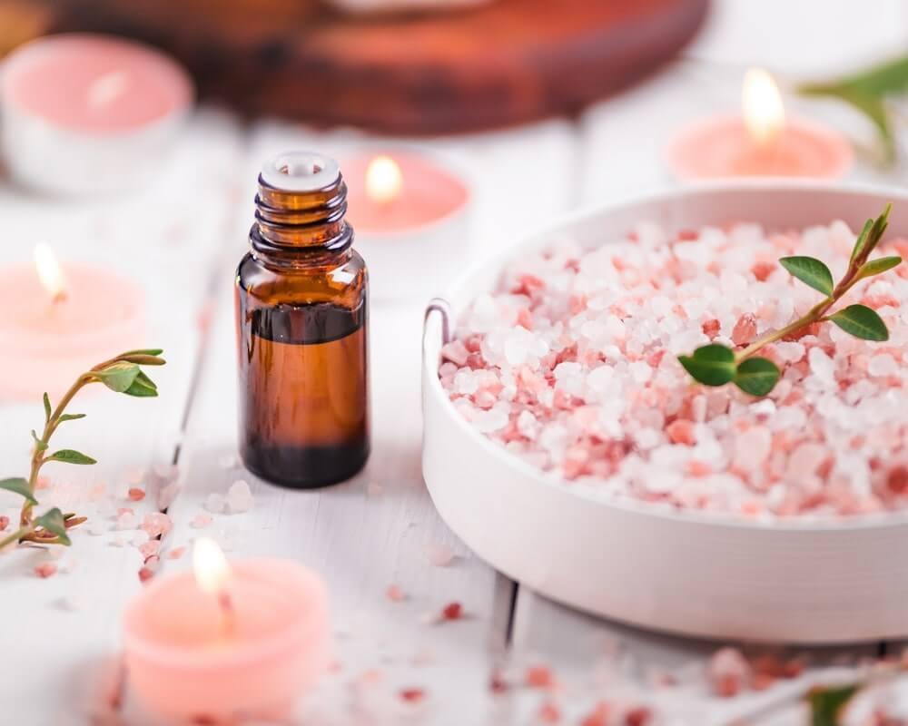 himalaya salt bath