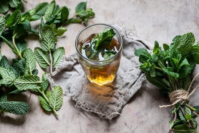 peppermint tea detox