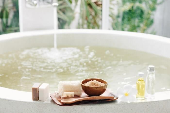 salt bath benefit