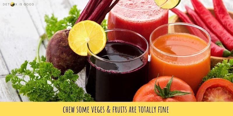 vege fruit juice cleanse