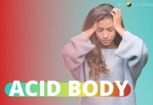 remove acidity from body