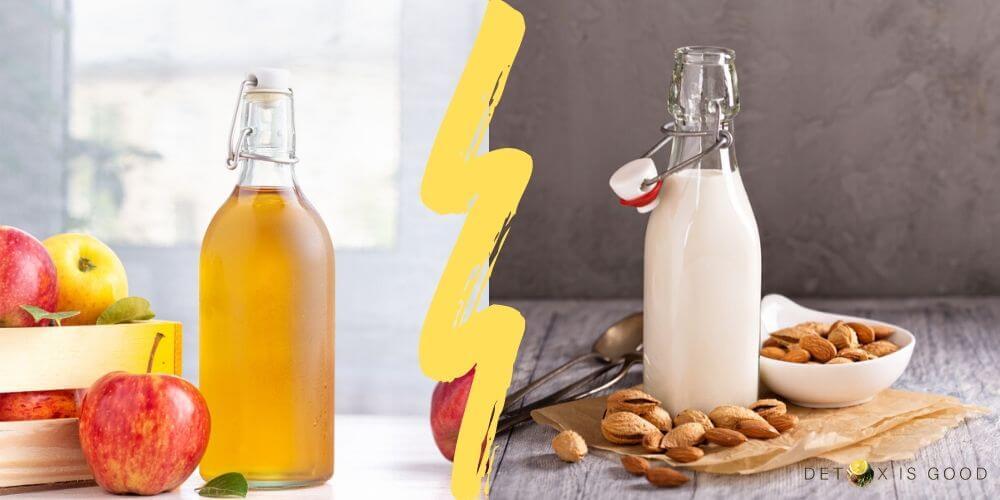 acv almond milk