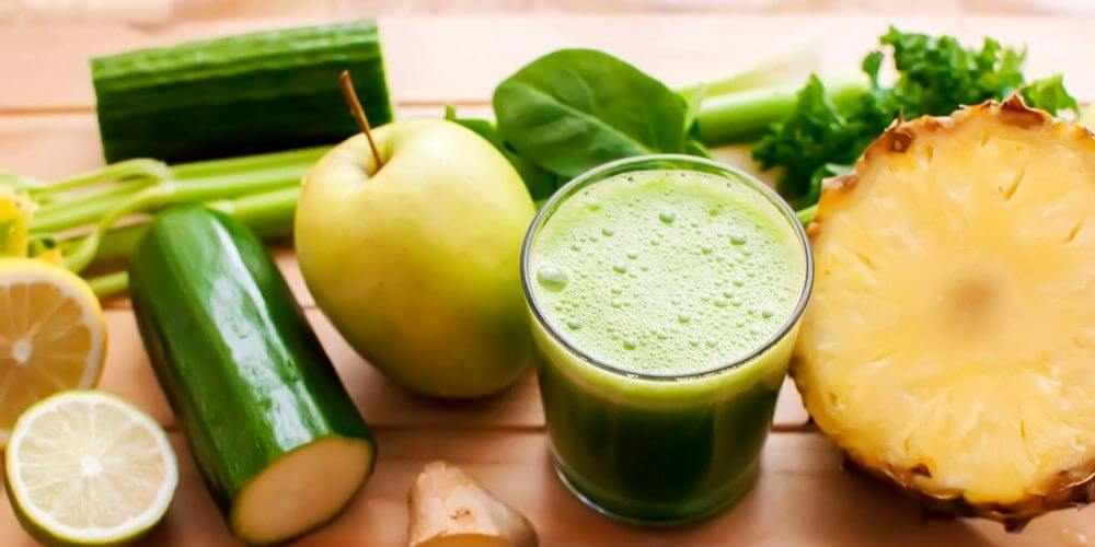 apple pineapple celery juice