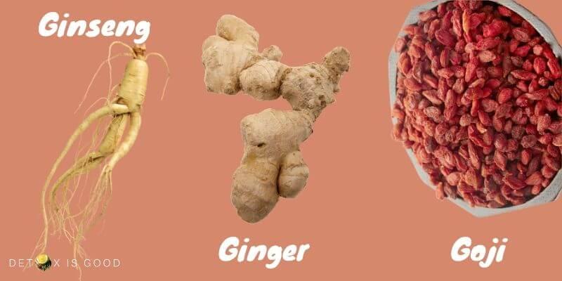 ginseng ginger goji