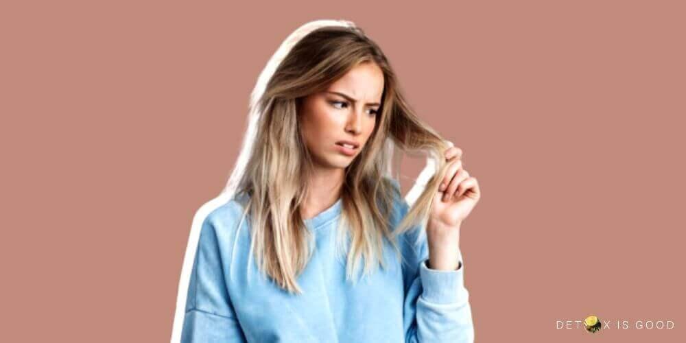 hair problem woman