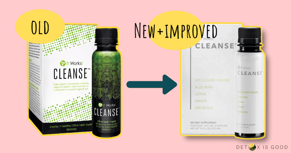 it works cleanse new formula