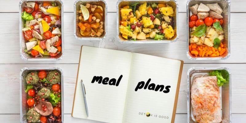meal plan fast detox