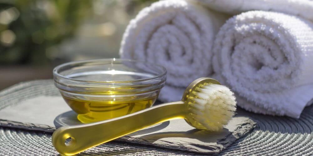 olive oil acne scar