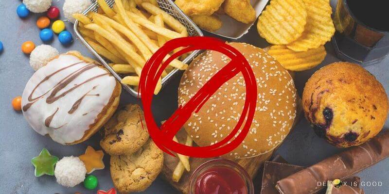 unhealthy bad junk food