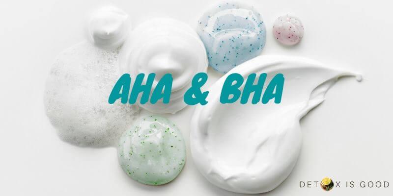 aha bha cream