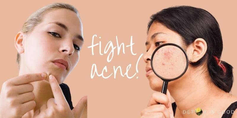 flight acne