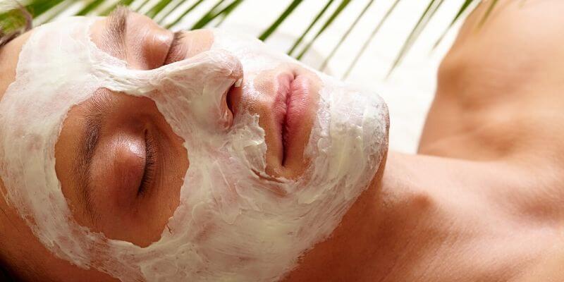 skin spa mask