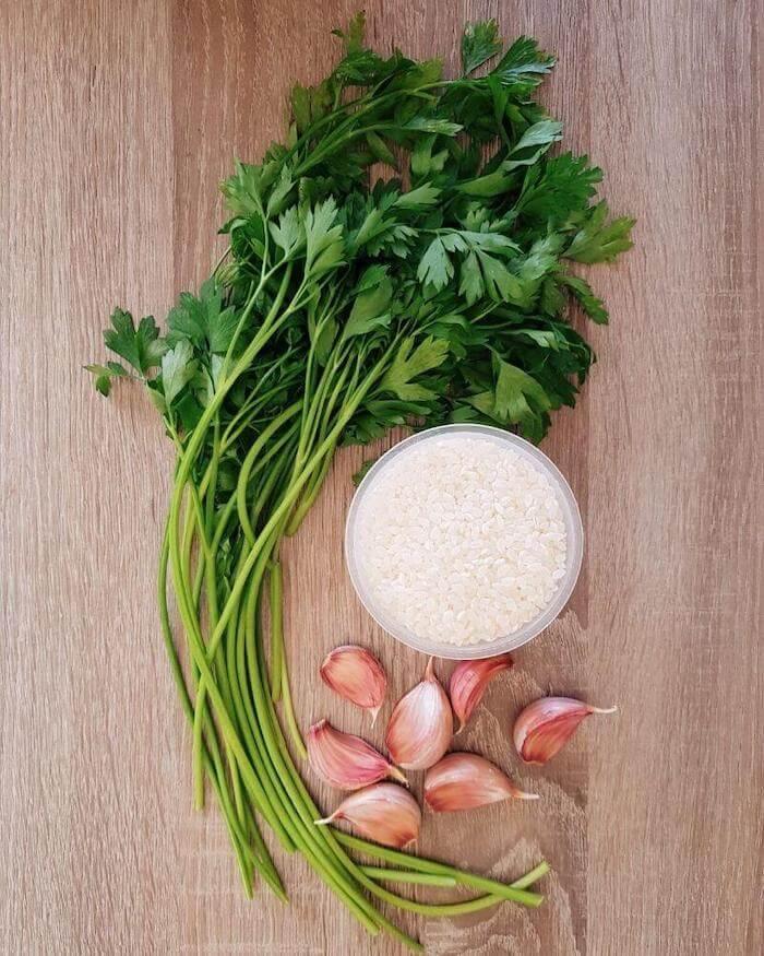 garlic rice ingredients