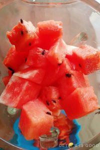 how to make watermelon juice step 2